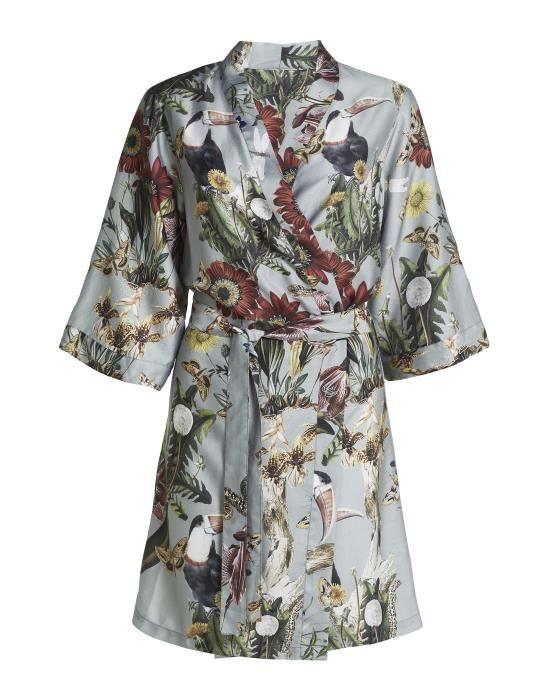 Essenza Sarai Airen Dusty green Kimono XS