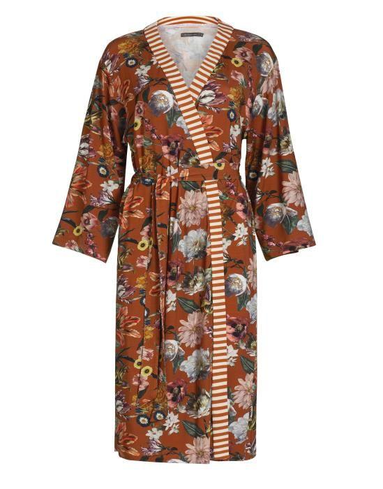 Essenza Sarai Filou Leather Brown Kimono XS