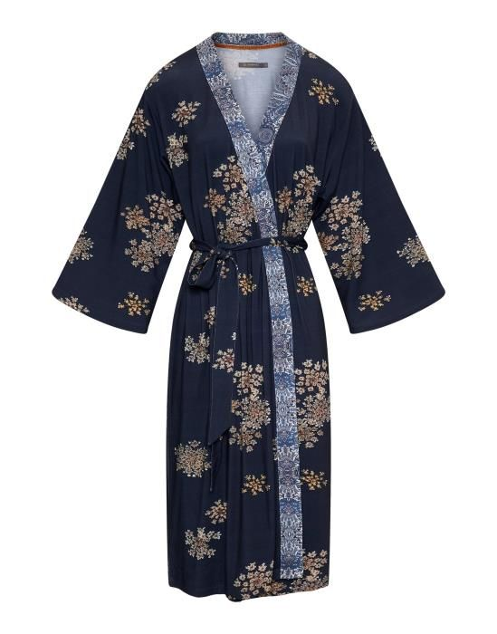 Essenza Sarai Lauren Boheme Indigo blue Kimono XS