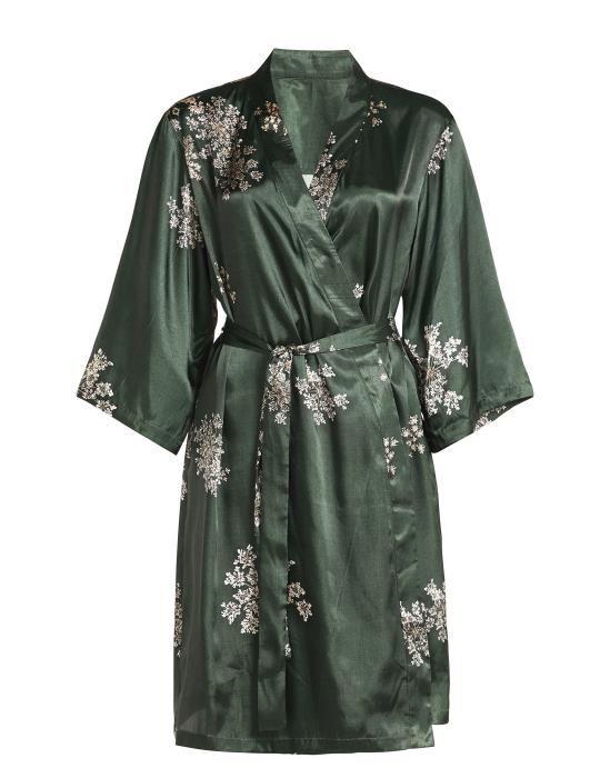 Essenza Sarai Lauren Green Kimono XS
