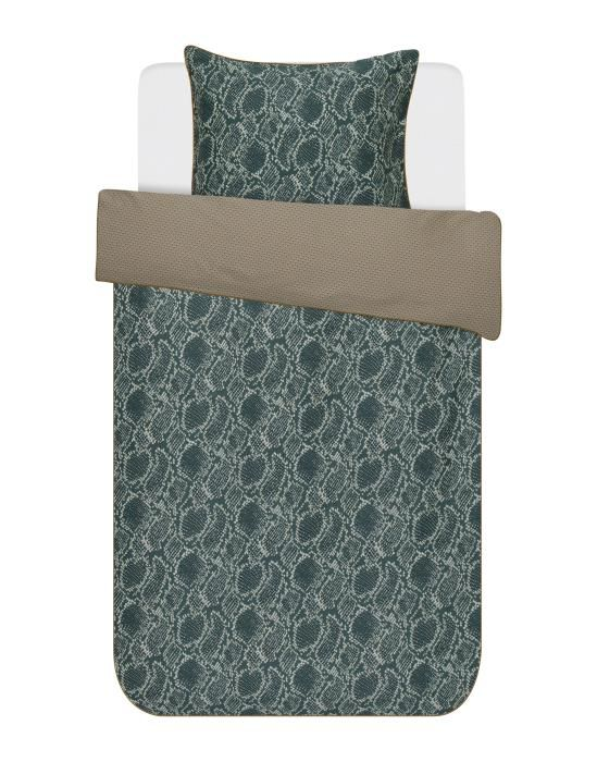Essenza Solan Green Duvet cover 135 x 200