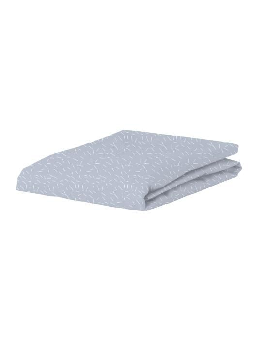 Covers & Co Sprinkle Party Blue Fitted sheet 90 x 200