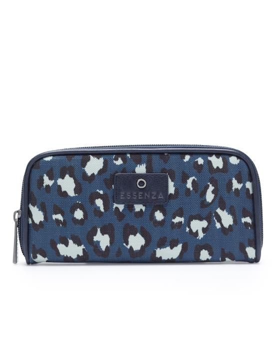 Essenza Tatum Animal Blue Wallet One Size