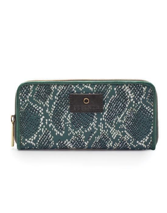 Essenza Tatum Solan Green Wallet One Size