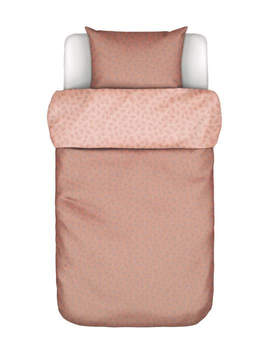 Marc O'Polo Verin Coral pink Duvet cover 135 x 200