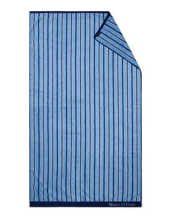 Marc O'Polo Verta Blue Beach towel 100 x 180