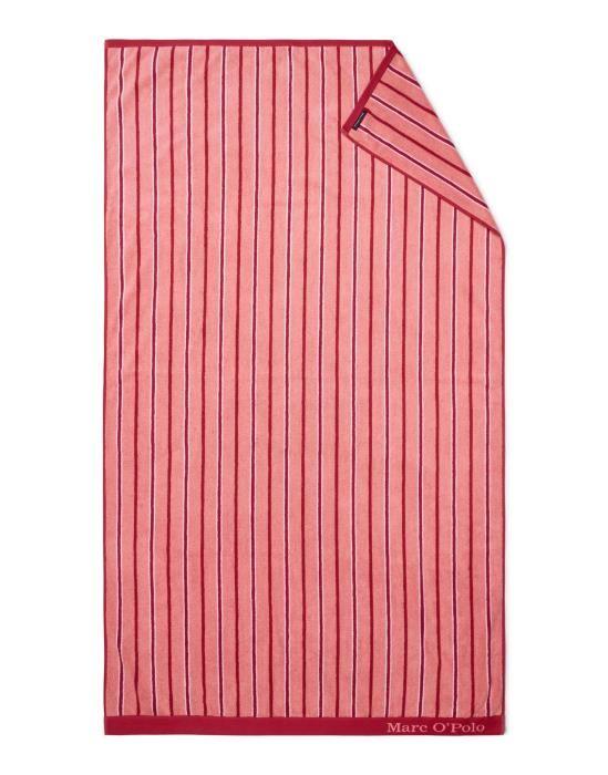 Marc O'Polo Verta Red Beach towel 100 x 180