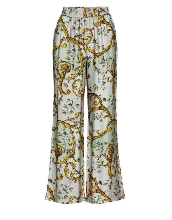 Essenza Vivian Georgina Green Trousers Long XS