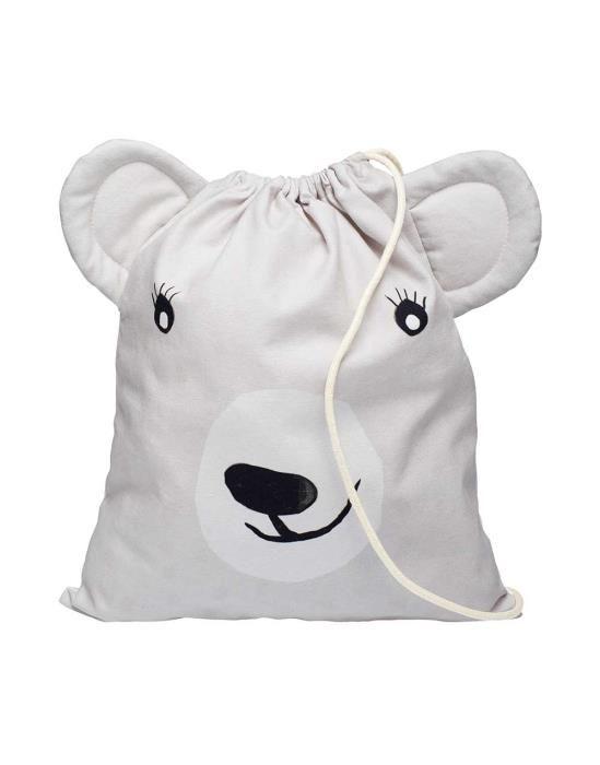Covers & Co Yuki Grey Gym Bag One Size