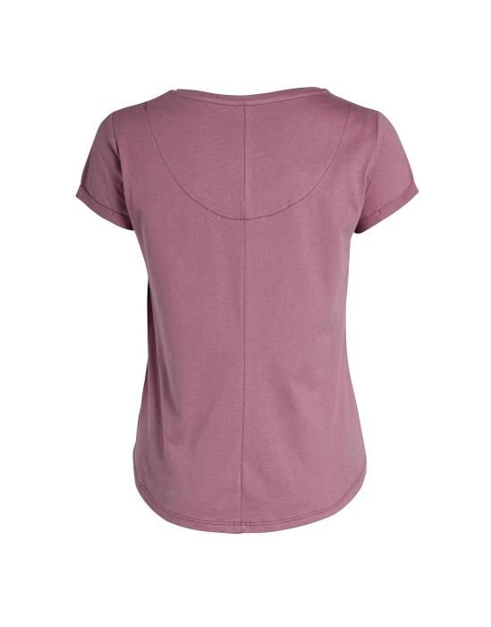 Essenza Zef Uni Marsala Top Short Sleeve XS
