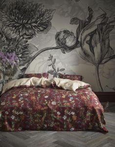 ESSENZA Aletta Burgundy Bettwäsche 155 x 220 cm
