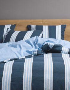 Marc O'Polo Arbra Blau Bettwäsche 135 x 200 cm