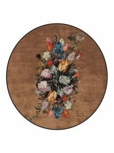 Essenza Beautiful Bouquet Brown Carpet 180