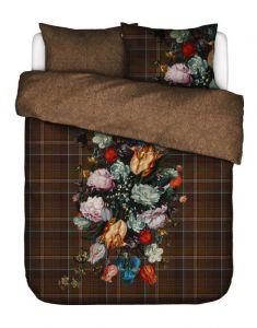 Essenza Beautiful Bouquet Brown Duvet cover 240 x 220