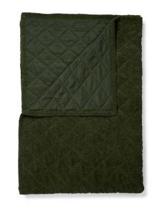 Essenza Billie Dark Green Plaid 150 x 200 cm