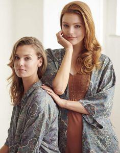 ESSENZA Blair Giulia Laurel Green Nightdress short sleeve XL