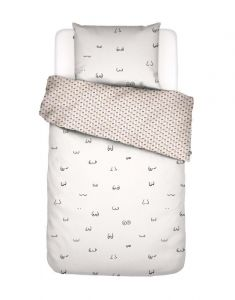 Covers & Co Booby Trap White Duvet cover