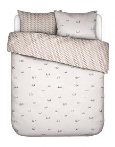 Covers & Co Booby Trap White Duvet cover 200 x 220