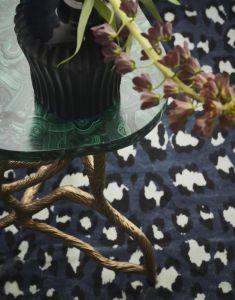 ESSENZA Bory Blau Teppich 120 x 180 cm