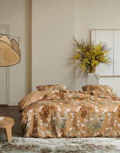 Essenza Charlize Cashew Duvet cover 240 x 220