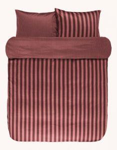Marc O'Polo Classic Stripe Warm earth Duvet cover 260 x 220