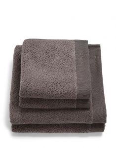 Essenza Connect Organic Breeze Stone grey Towel Set 50 x 100  + 70 x 140  set