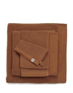ESSENZA Connect Organic Breeze Leather Brown Towel 60 x 110