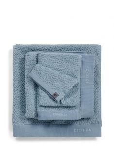 ESSENZA Connect Organic Breeze Blau Waschhandschuhe 16 x 22 cm