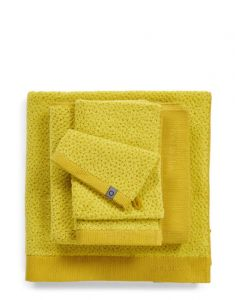 ESSENZA Connect Organic Breeze Gelb Waschhandschuhe 16 x 22 cm