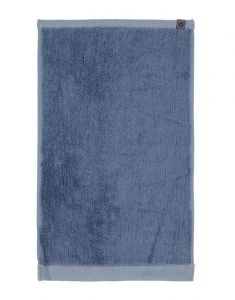 ESSENZA Connect Organic Lines Blau Gästetuch 30 x 50 cm