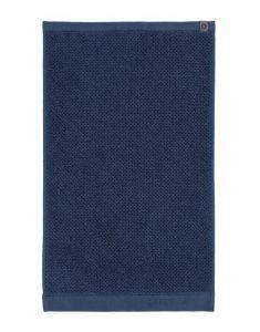 ESSENZA Connect Organic Uni Blau Gästetuch 30 x 50 cm