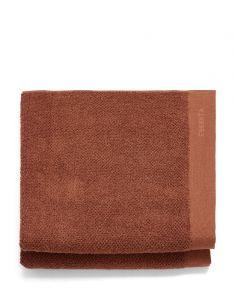 Essenza Connect Organic Uni Warm brown Towel Set 70 x 140   set