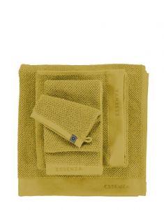ESSENZA Connect Organic Uni Gelb Waschhandschuhe 16 x 22 cm