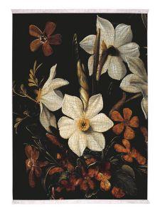 ESSENZA Daffodils Reunited Black Carpet 120 x 180