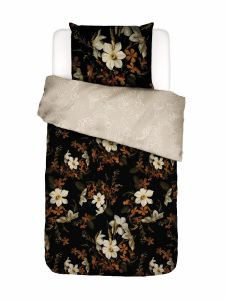 Essenza Daffodils Reunited Black Duvet cover 155 x 220