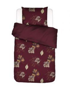 ESSENZA Elin Wine red Duvet cover 135 x 200