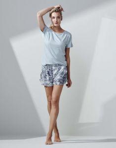Essenza Ellen Uni Iceblue Top Short Sleeve M