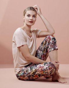 ESSENZA Ellen Uni Rose Top Short Sleeve XS