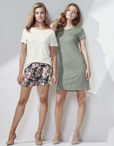 ESSENZA Ellen Uni Vanilla Top Short Sleeve XXL