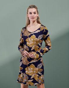ESSENZA Elm Gwyneth Nightblue Nightdress long sleeve M
