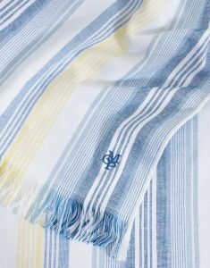 Marc O'Polo Eno Blue Hammam towel 100 x 180
