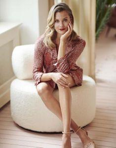 ESSENZA Erin Giulia Rose Nightdress 3/4 sleeve XS
