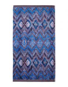 ESSENZA Fabienne Blue Granite Strandhandtuch 100 x 180 cm