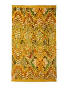 ESSENZA Fabienne Senfgelb Strandhandtuch 100 x 180 cm