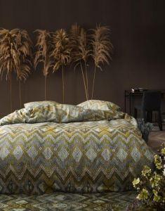 Essenza Fabienne Olive Pillowcase 60 x 70