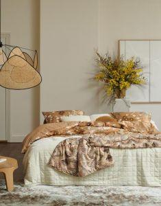 ESSENZA Fabienne Biscuit Quilt 180 x 265