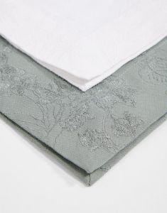 ESSENZA Fine Art Stone green Tischset 35 x 50 cm