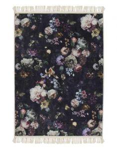 ESSENZA Fleur Nightblue Teppich 120 x 180 cm