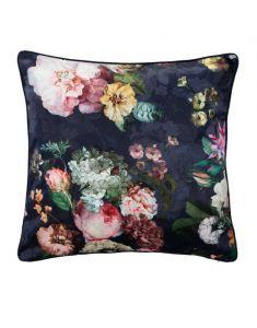 ESSENZA Fleur Nightblue Dekokissen 50 x 50 cm