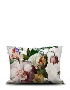 ESSENZA Fleur White Pillowcase 50 x 75